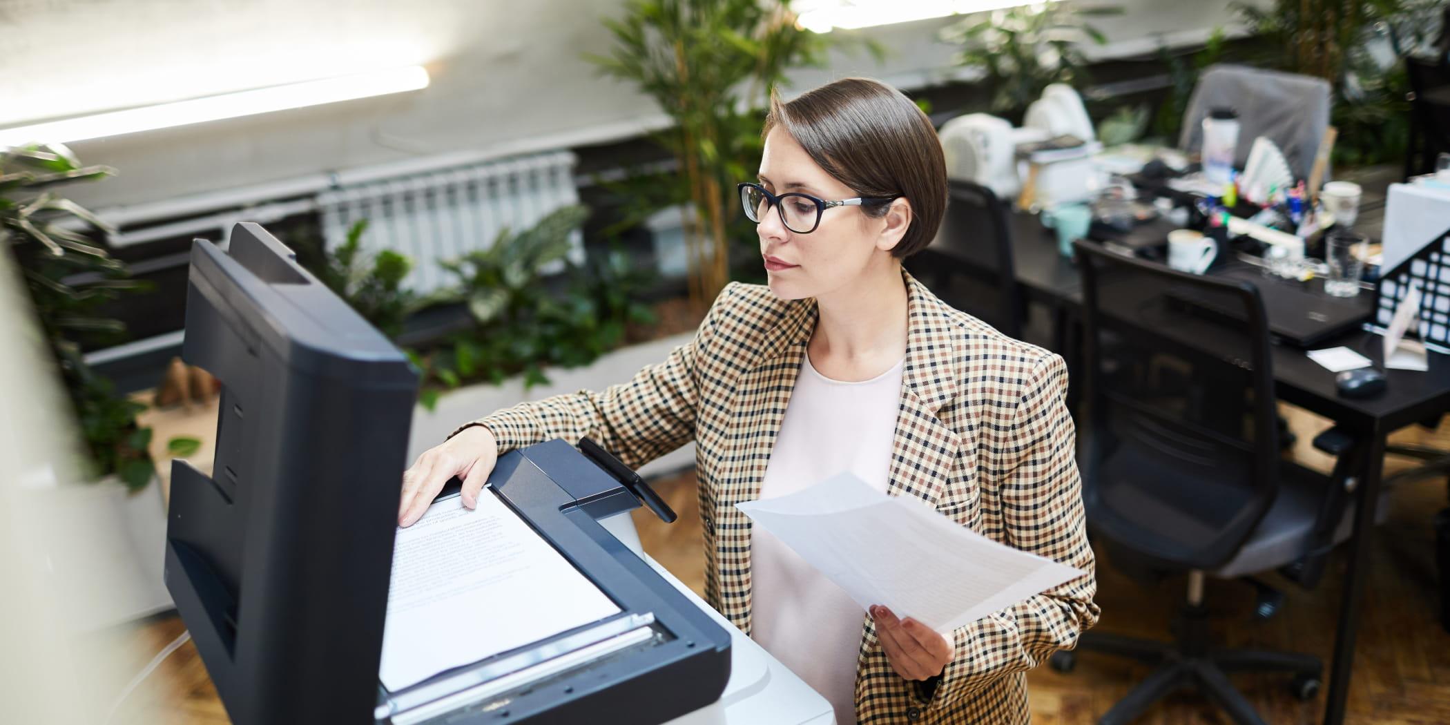 сканирование, документы, важно